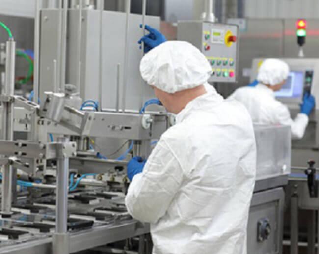 des industriels secteur pharmaceutique