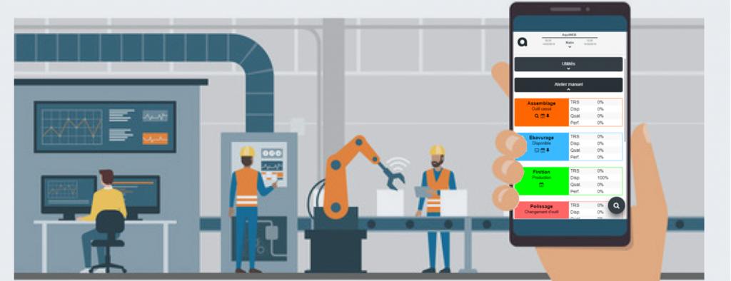 Avec le logiciel MES : l'opérateur et le manager sont les moteurs de l'usine du futur